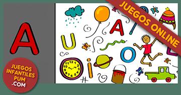 Juegos Gratis Para Ninas Y Ninos A Buscar Las Vocales Para Jugar