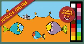 Juegos de Pintar Online * Peces