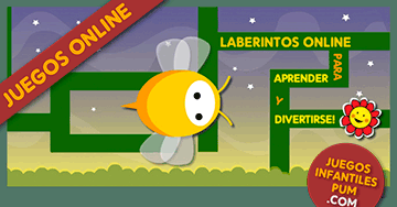 Juegos Didacticos Gratis Para Ninos La Abejita En El Laberinto