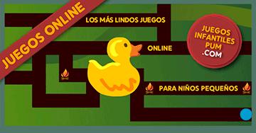 Jugar Online Con Laberintos Para Ninos Pequenos El Pato En El
