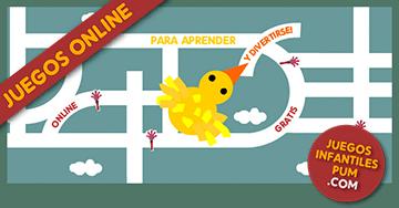 Juegos Educativos Gratis Para Ninos El Pajarito En El Laberinto