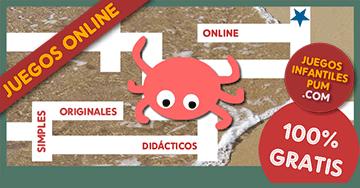 Juegos Didacticos Gratis Para Ninos El Cangrejo En El Laberinto