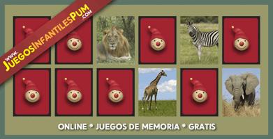 Juegos Didacticos Gratis Para Ninos Memotest Con Animales De La