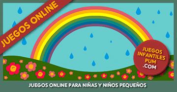 Juegos Online Para Ninos De 3 4 5 Anos Lluvia Y Arcoiris
